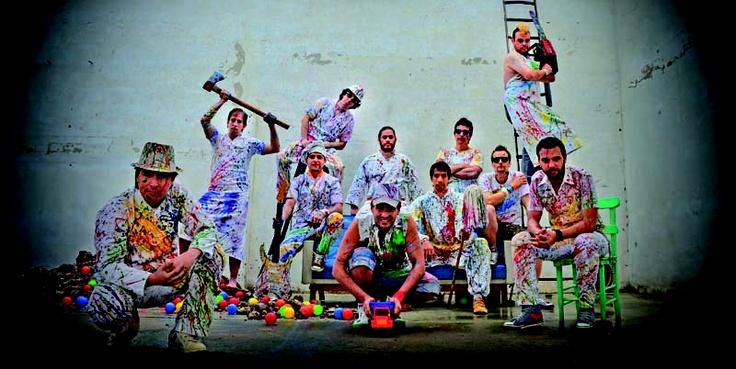 Vive Latino 2012: Los Caligaris - ESCENARIO INDIO VERDE - Sábado 17:20 #VL12