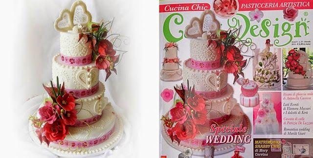 Le Torte di Pezzettiello e non solo...: Torta su Cucina Chic Cake Design 37