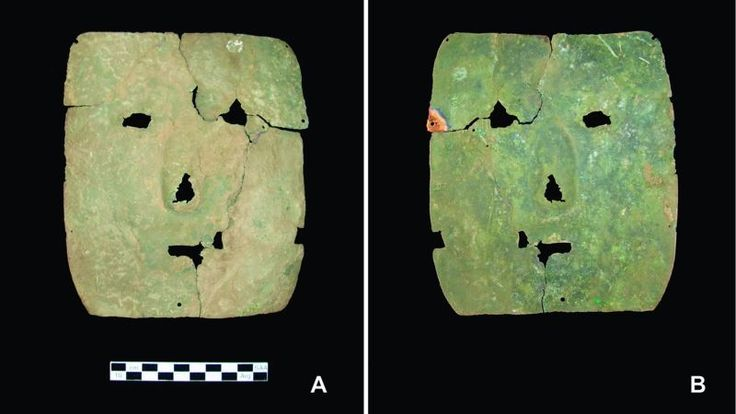 A square-shaped copper mask pulled from a tomb in the southern Andes is resetting our notions of where and when sophisticated metallurgy first appeared in pre-Hispanic South America.