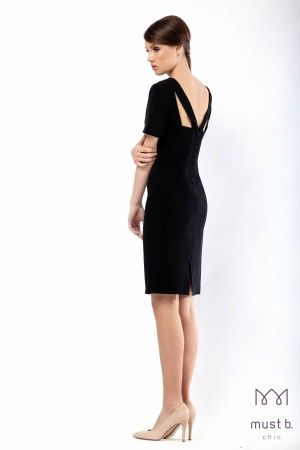 Fashionable black dress Spring Summer 2015