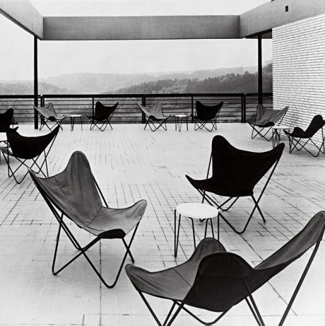 Butterfly Chair Designed By Argentines Juan Kurchan, Antonio Bonet And  Jorge Ferrari Hardoy In
