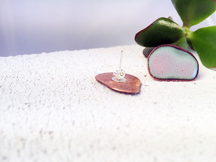 A personal favourite from my Etsy shop https://www.etsy.com/listing/593680619/contemporary-enameled-earring-gift