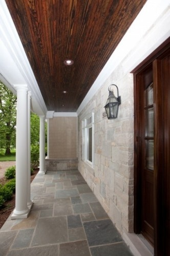 Exceptional Wood Slat Ceiling On Patio