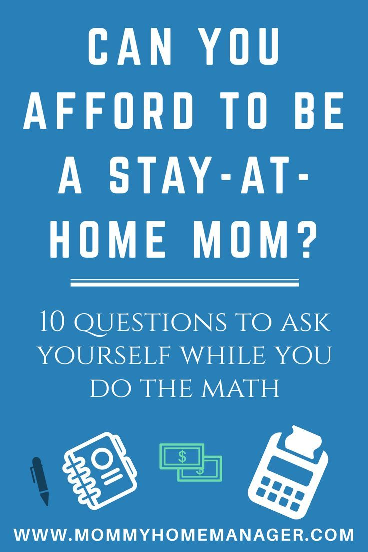 If you are expecting or have a little one, it can be hard to leave him or her to go to work everyday. It can also be hard for a family to live on one income. Find out how to figure out if you can afford to be a stay at home mom (or dad).