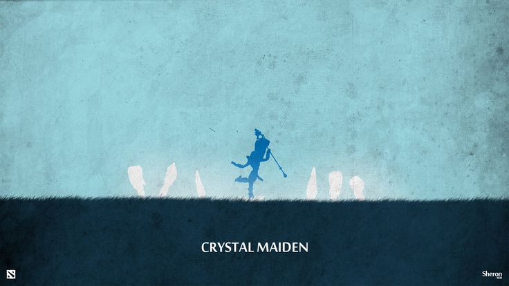 ~Crystal Maiden ~Wallpaper ~Dota 2 ~By sheron1030