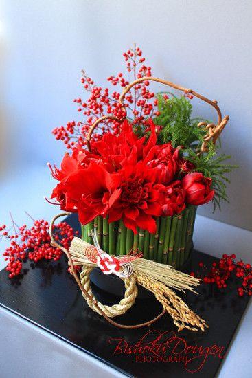 【明日〆切・募集中】お正月テーブルフラワー・アレンジメント・レッスン|東京・女性&初心者のための写真教室・美食同源フォトスクール