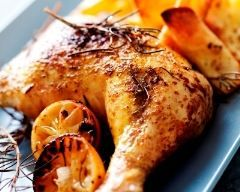 Poulet rôti à la broche à ma façon - Une recette CuisineAZ