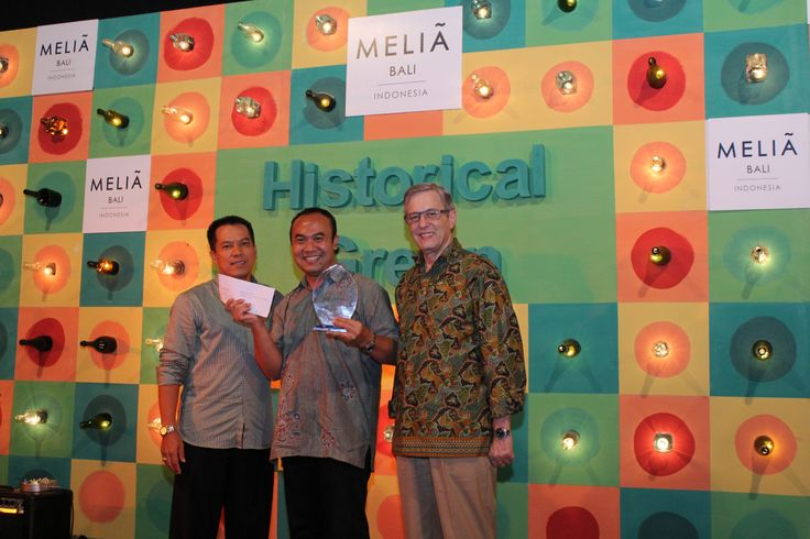 Agoda.com, #2 @MELIÃ BALI award. Last year agoda.com was #1, gotta try harder next year...