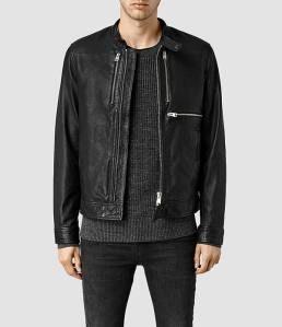 Allsaints - Howard Leather Biker Jacket