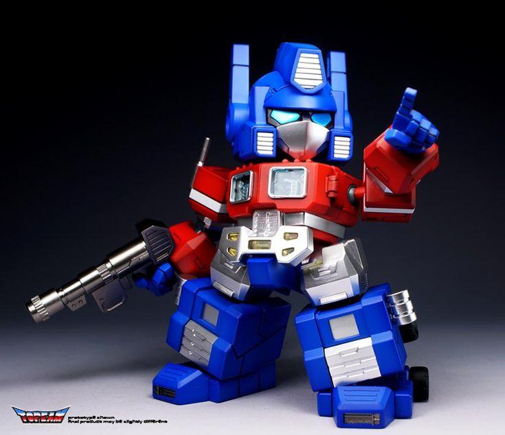 #transformer transformers topeam tsd-001 q version of optimus prime assembled new stock variable model