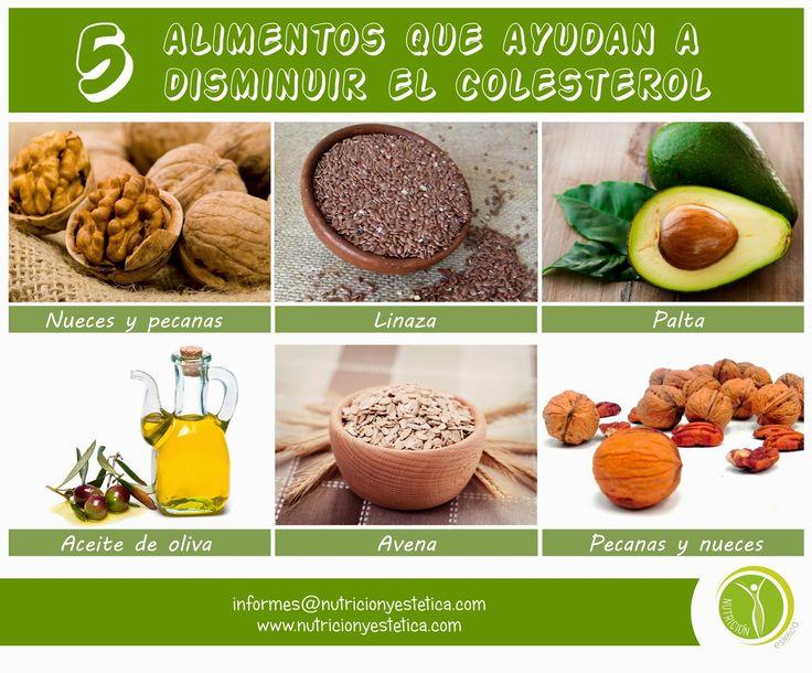 Nutricion Estetica: 5 Alimentos que ayudan a disminuir el colesterol. ...