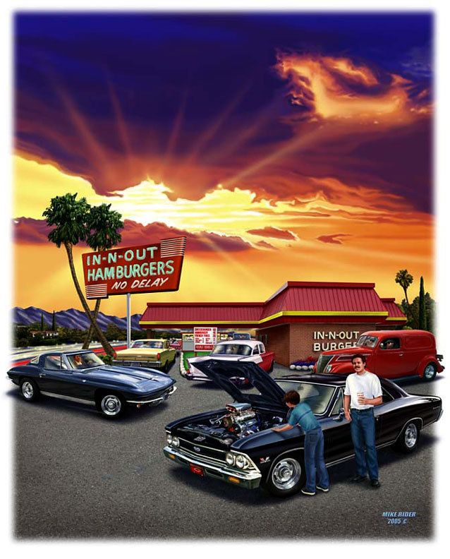 34 Best In-n-out Burger Art Images On Pinterest