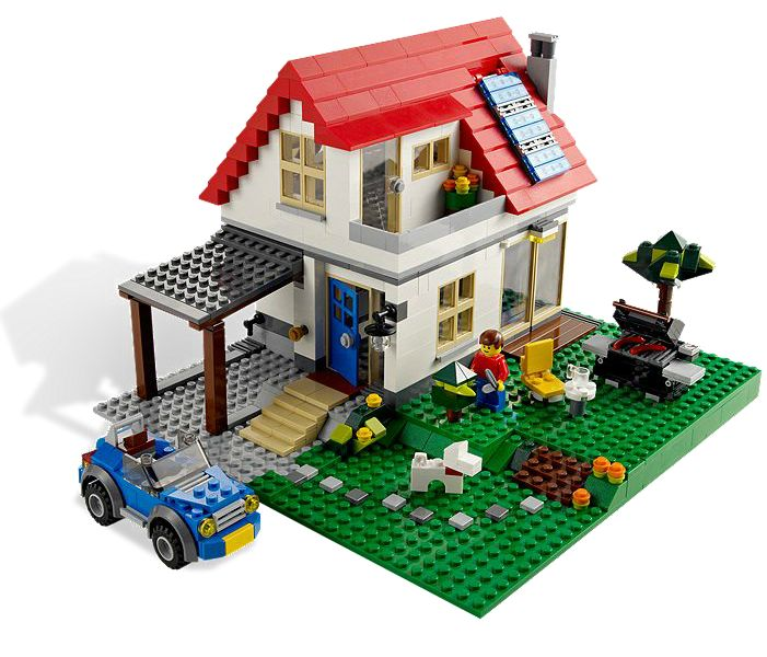 lego city ideas | LEGO Creator Hillside House (5771)