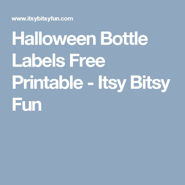 The 25+ best Halloween bottle labels ideas on Pinterest - free wine bottle label templates