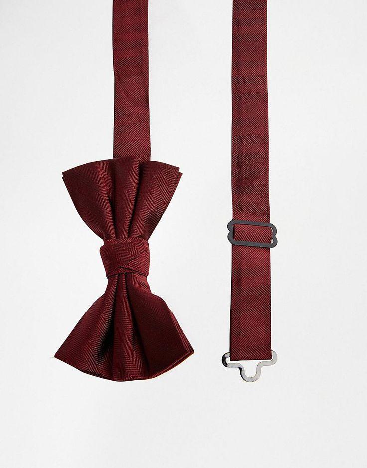 Image 1 ofASOS Silk Bow Tie