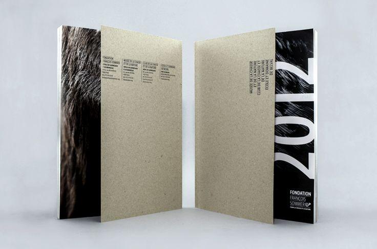 European Design - Annual Report Musée de la Chasse et de la Nature,  Agency: DES SIGNES, studio Muchir Desclouds, Agency URL: http://des-signes.fr, Category: 05. Annual Report, Award: Gold, Year: 2014, Country: France, City: Paris