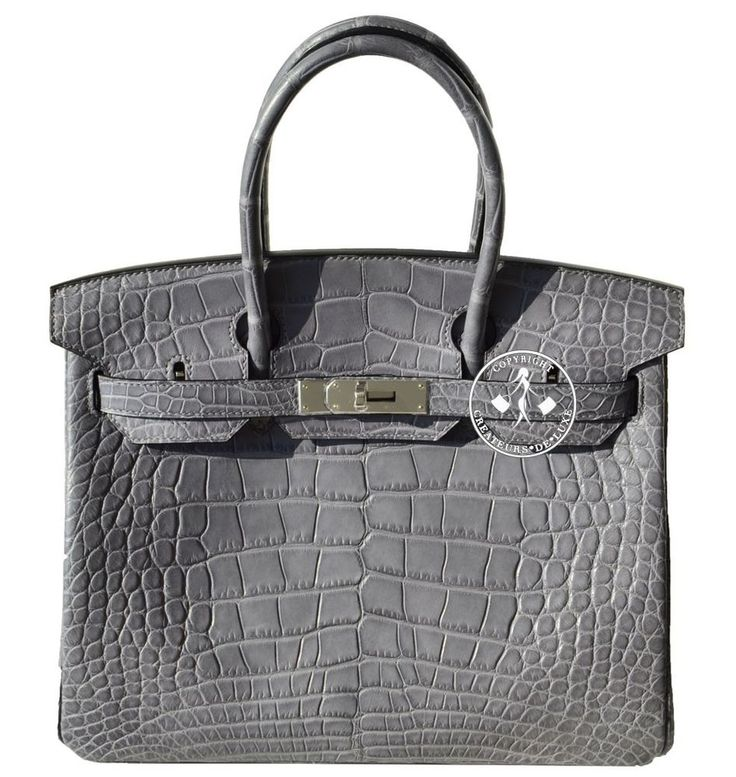 0452de24c3d6 ... promo code 30 hermes matte paris grey alligator birkin handbag  palladium 10013 4611f 1495d