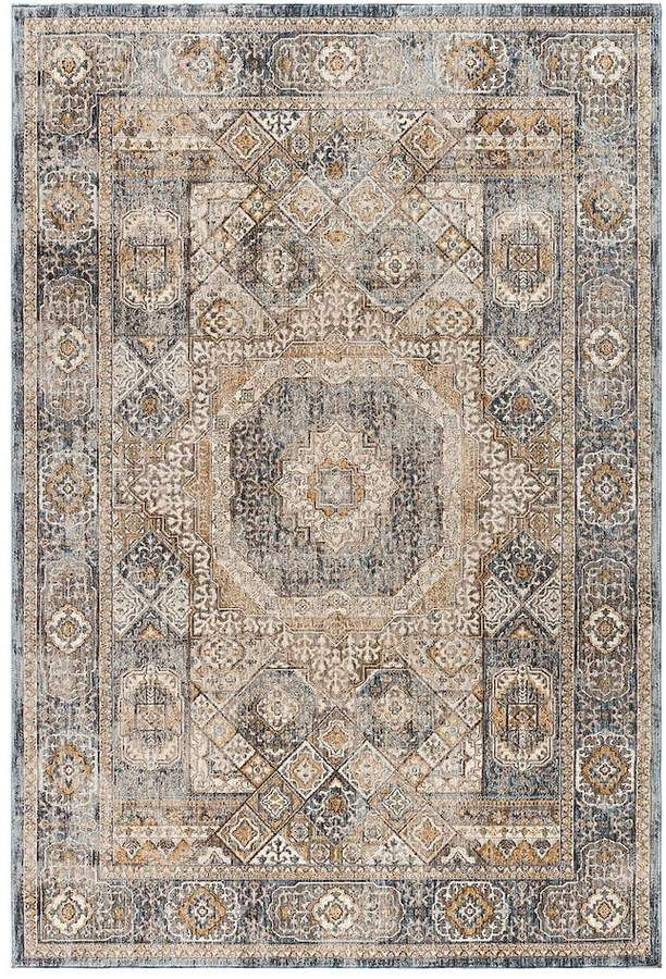 Khl Rugs Fairview Phillip Framed Medallion Rug Area Rugs Medallion Rug Area Rugs Diy