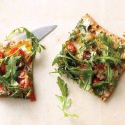 Mario Batali's Pizza Aglio, Olio, e Peperoncino Recipe - Bon Appétit