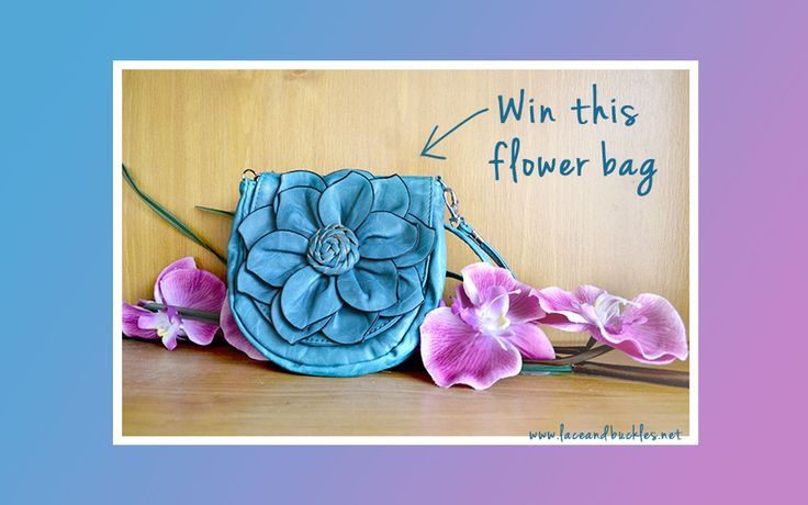 Lace and Buckles Flower Bag Giveaway
