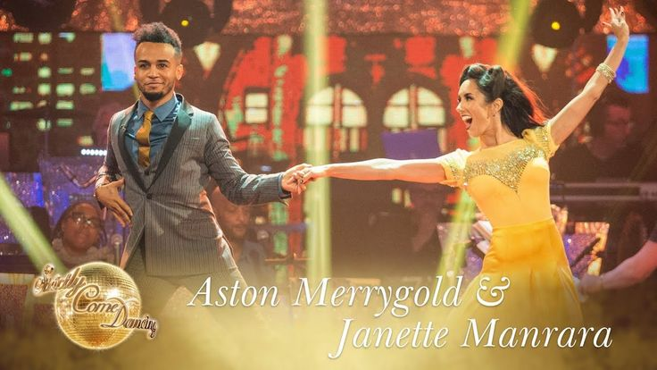 Aston Merrygold and Janette Foxtrot to 'It Had To Be You' - Strictly Com...