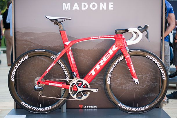 The 2016 Trek Madone RSL, or Race Shop Limited edition in H1 geometry | Racefietsblog.nl