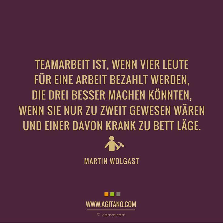 teamarbeit #arbeit #zitate #sprüche … | Zitate | Funny Quotes