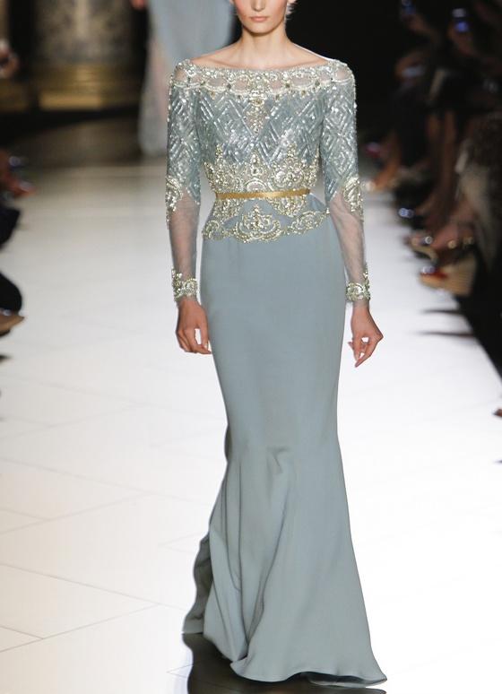 Elie Saab Fall 2012 Couture .... la mama de la novia!