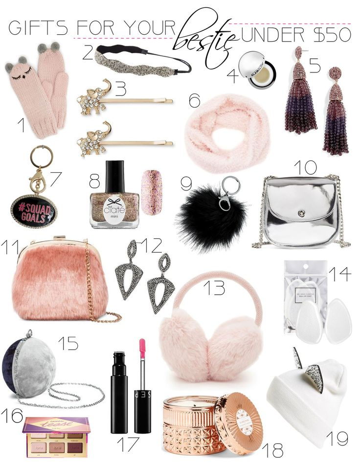 Gift Ideas For Your Bestie Birthday gifts for girls