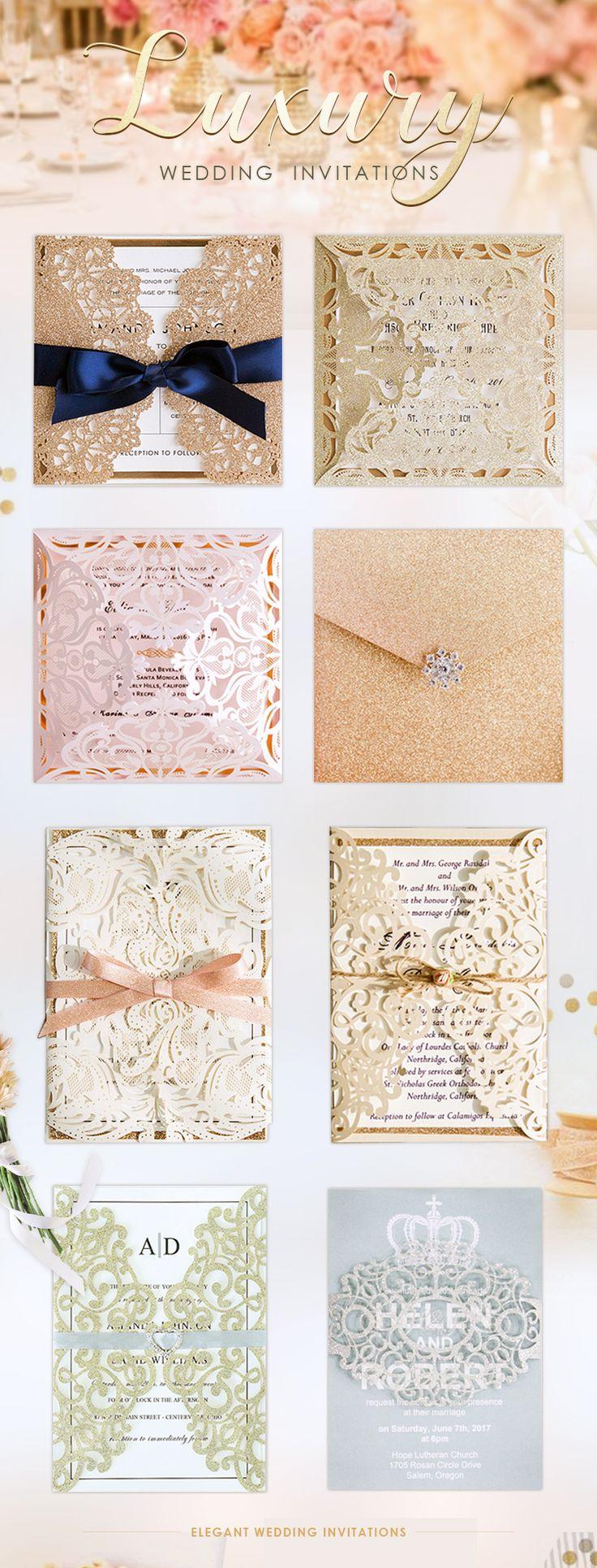 Find Custom Luxury Wedding Invitations at ElegantWeddingInvites
