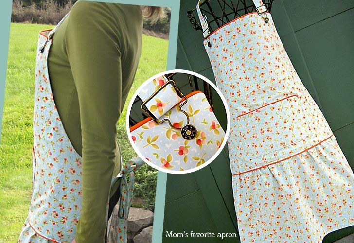 this tutorial on a vintage apron is well done.