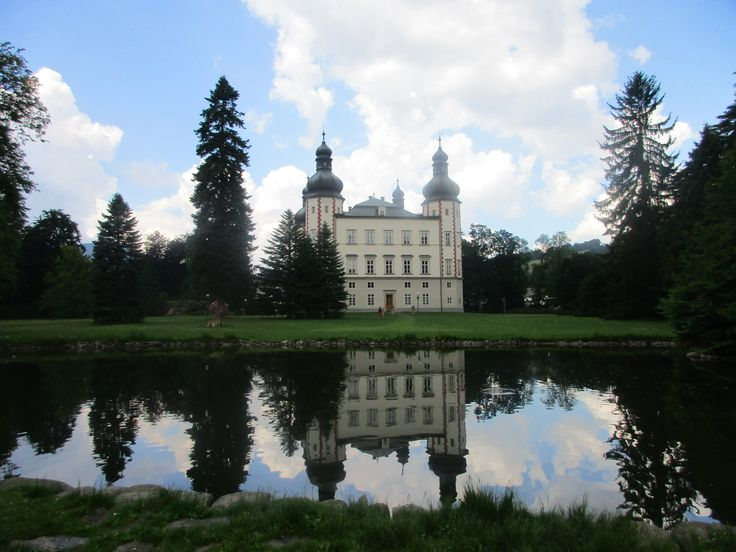 Zámek ve Vrchlabí - kraj Královéhradecký - česko