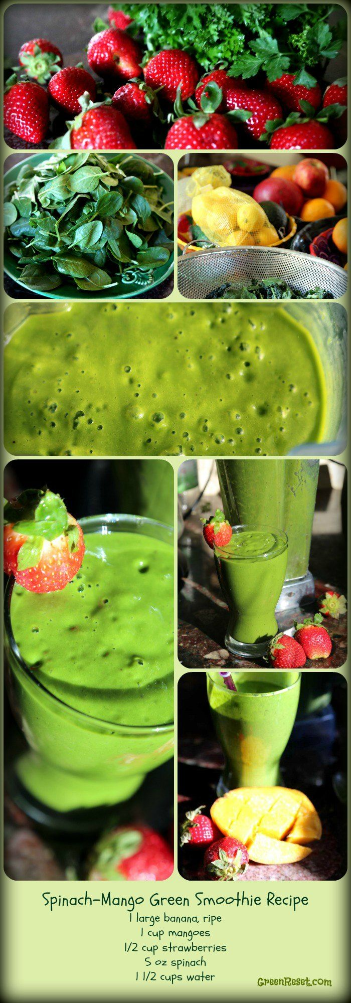 10 Spinach Recipes for Smoothies: How To Make Yummy Spinach Smoothies Your Family ( gotta try for my ameia
