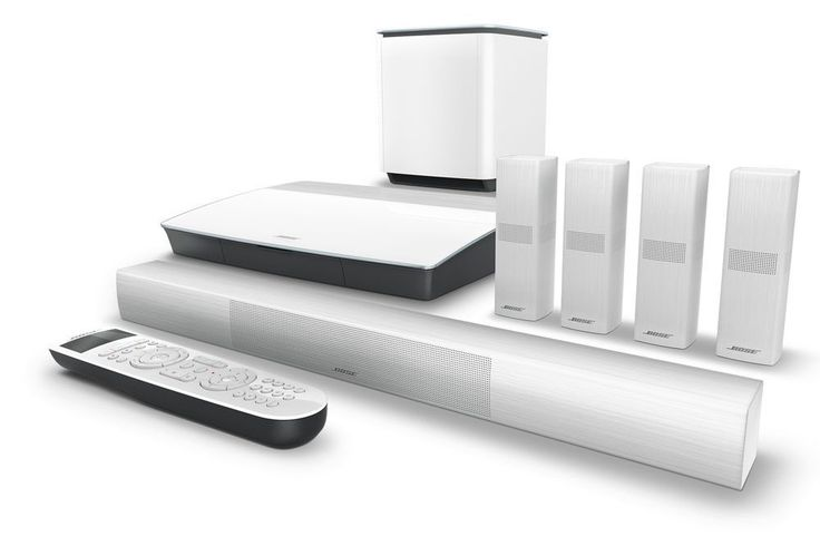 Home Theater Systems: Bose Lifestyle 650 Ls650 Home Cinema System (White Color) Brand New -> BUY IT NOW ONLY: $3185 on eBay!