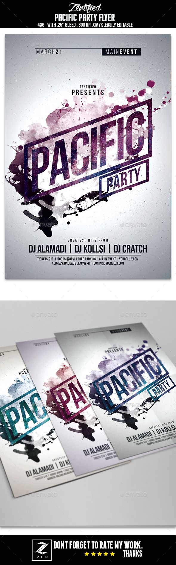 24 best Night Party Flyer Templates images on Pinterest | Business ...