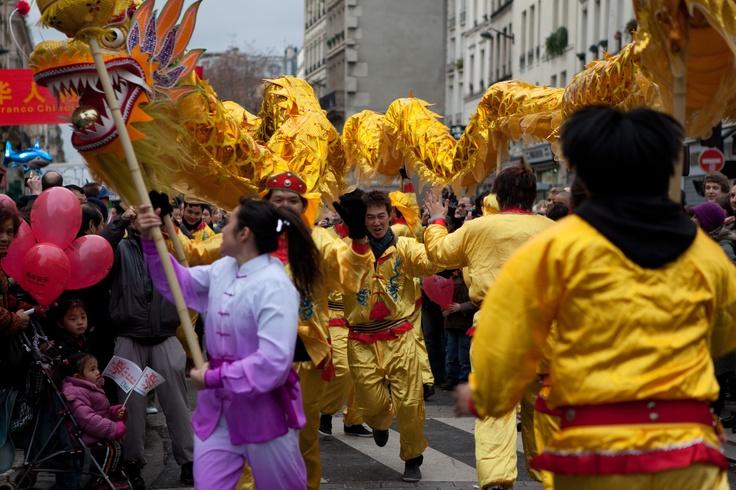 Nouvel an chinois à Paris en 2012 © Mairie de Paris/Jean-Baptiste Gurliat