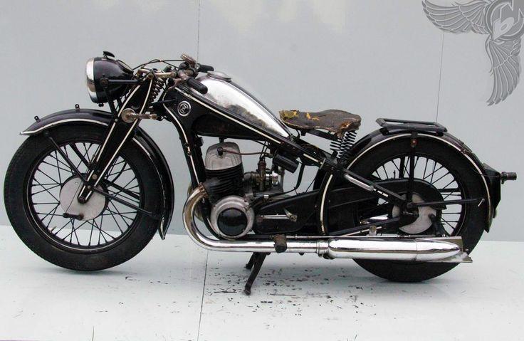 cz 500cc two-stroke inline twin