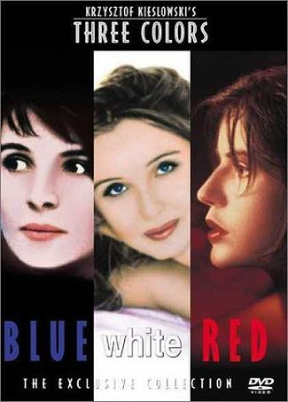 The Three Colors Trilogy, Blue, White and Red. 1993 - 1994. Directed by Krzysztof Kieślowski. Starring Juliette Binoche, Julie Delpy, Irene Jacob: French Film, Red, Colors Trilogy, Movie, Colors Blue, Three Colour, Krzysztof Kieslowski, Juliette Binoche, Three Colors