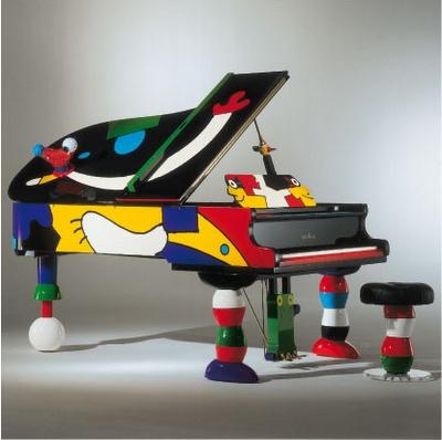 Schimmel Piano / Schimmel Konzert Grand (The Concert Grand Piano by Artist Otmar Alt)  K 213 Otmar Alt, spezial colour, length: 213 cm | 7'0'' inch