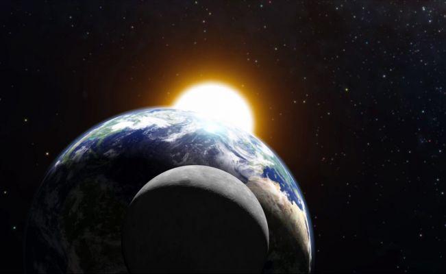 Sigue en vivo el eclipse lunar de esta noche