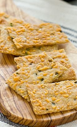 Jalapeño Cheddar Crackers | Recipe | Cheddar, Crackers and ...