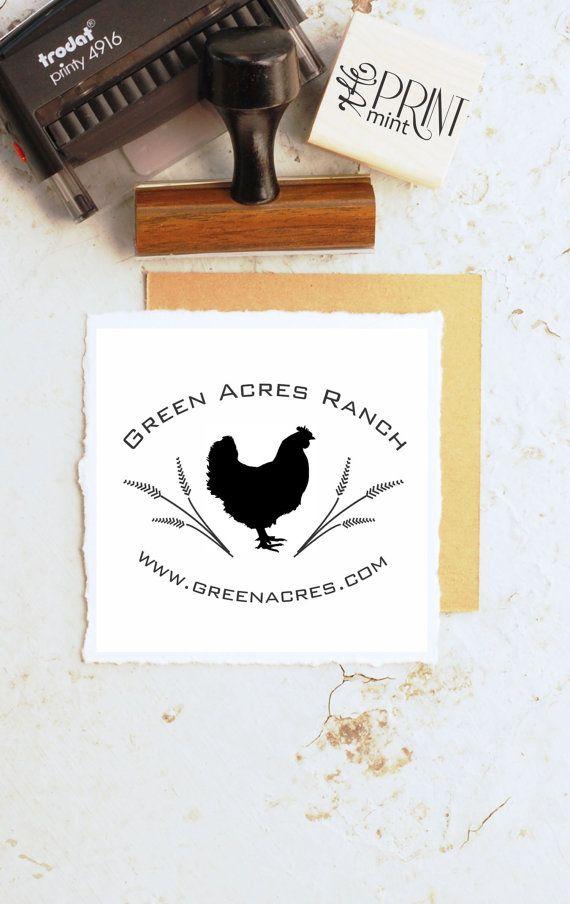 Egg Stamp Custom Farm Stamp Fresh Egg Custom Rubber