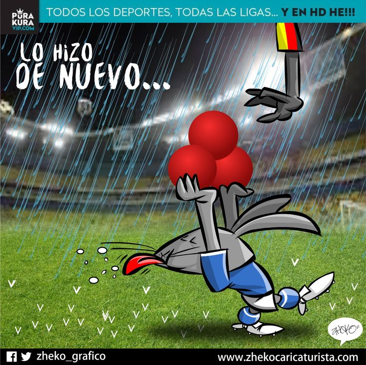 "#ElCartonDelDia para @PurakuraWeb""LO HIZO DE NUEVO"" @Cruz_Azul_FC#Cruzazulear @LeonesNegrosCF#CopaMx"