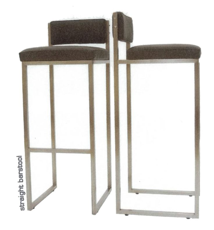 straight barstool, design by Melanie Hall. #melaniehall #melaniehalldesign #barstool #furniture #design