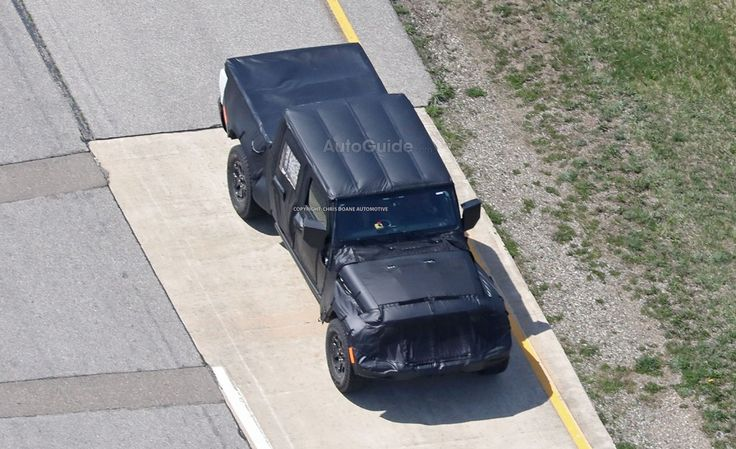 The Jeep Wrangler pickup truck is coming life. #Jeep #JeepWrangler #PickUp #Cars #Automotive #Trucks