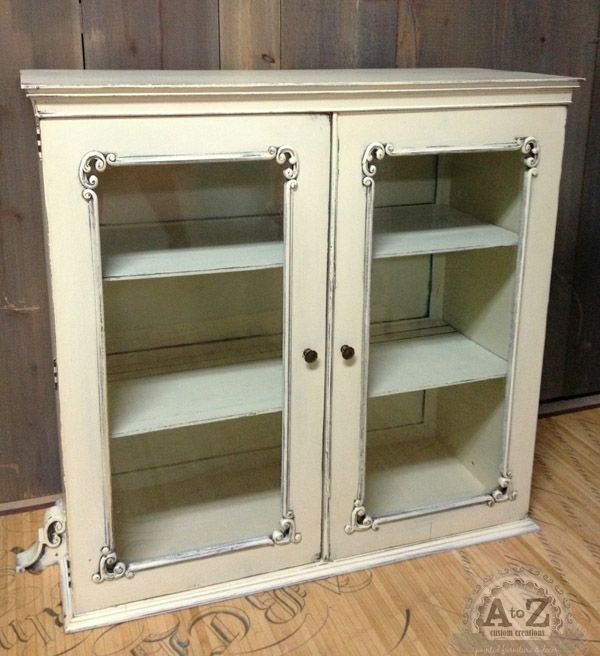 China cabinet top painted by a to z custom creations with for A 1 custom cabinets