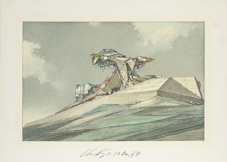 Lebbeus Woods: Early Drawings