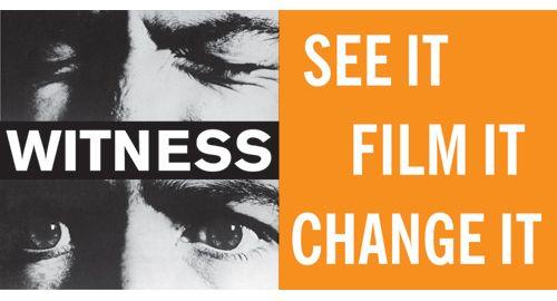 WITNESS [en], en ideell organisation baserad i USA för mänskliga rättigheter, gör det möjligt för människor att förvandla personliga berättelser om missförhållanden till kraftfulla verktyg för rättvisa. WITNESS grundades 1992 av musikern Peter Gabriel ocharbetar för att främja mänskliga rättigheter med hjälp av video för förändring i många länder i världen.