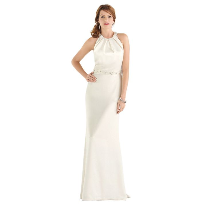 After Six Bridal Women S Halter Wedding Gown Ping The Best Prices