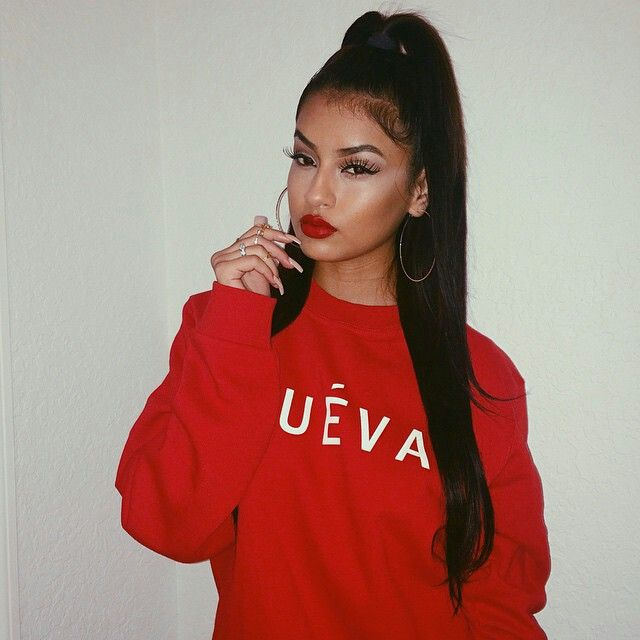 41 Best Chola Look Images On Pinterest Hair Dos Braids